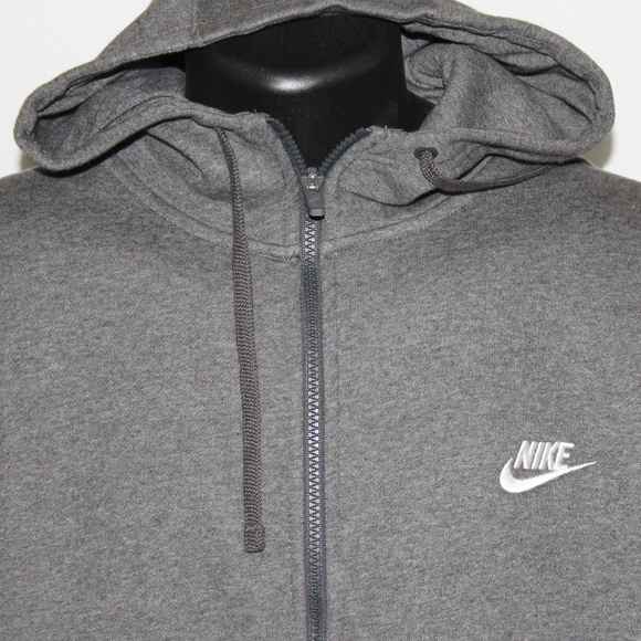 Nike Other - sold NEW Nike Full Zip Gray Performance Hoodie XXL
